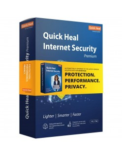 Quick Heal Internet Security Premium - 1 Users, 1 Years (DVD).