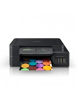 Brother Wireless Color Multi-Function Ink Tank Printer (Duplex Printing, DCP-T520W, Black)