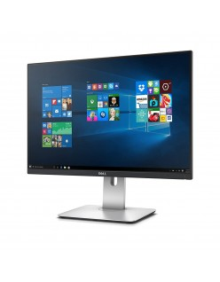 Dell 24 inch (60.96 cm) Ultra Thin Bezel LED Backlit Computer Monitor - WUXGA, IPS Panel with, HDMI, Display, USB, Audio Out Ports - U2415 (Black/Silver)
