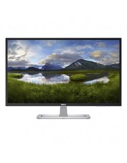 Dell 31.5 inch (80.01cm) Full HD Monitor - IPS Panel, Wall Mountable with HDMI and VGA Ports - D3218HN (Black)