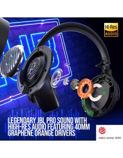 JBL Club ONE Over-Ear Wireless Noise-Cancelling Headphones