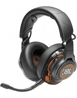 JBL Quantum ONE - Over-Ear Performance Gaming Headset with Active Noise Cancelling - Black