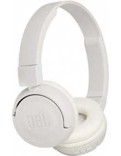 JBL T460BT by Harman Extra Bass Wireless On-Ear Headphones with 11 Hours Playtime & Mic (Black)