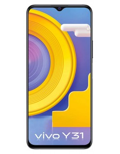 Vivo Y31 (Racing Black, 6GB, 128GB Storage) with No Cost EMI/Additional Exchange Offers