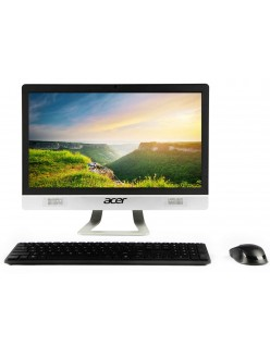 Acer Veriton All In One Desktop Intel Core I3 10th Gen (4 GB RAM/1TB HDD/Windows 10 Home) With 54.6cm(21.5Inch) IPS Display