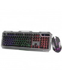 Zebronics Zeb-Transformer Gaming Keyboard and Mouse Combo (USB, Braided Cable)