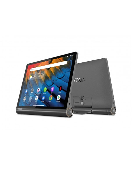 Lenovo Yoga Smart Tablet with The Google Assistant 25.65 cm (10.1 inch, 4GB, 64GB, WiFi + 4G LTE), Iron Grey