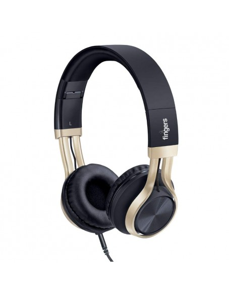 FINGERS Showstopper H5 Wired Headphones with Mic and Deep Bass