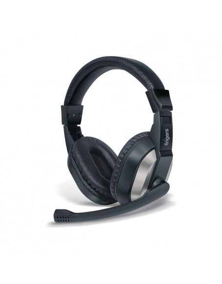 fingers Wired On-Ear F10 3.5 mm Jack Adjustable Mic,